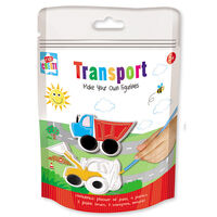 Paint Your Own Transport Figurines