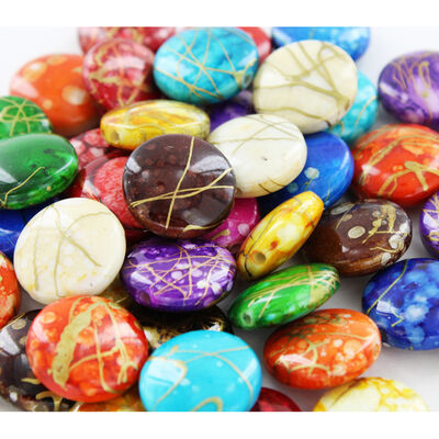 Mottled Beads - 2 Pack image number 2