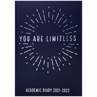 A5 Limitless 2021-2022 Week to View Diary