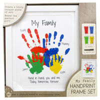 My Family Handprint Frame Set