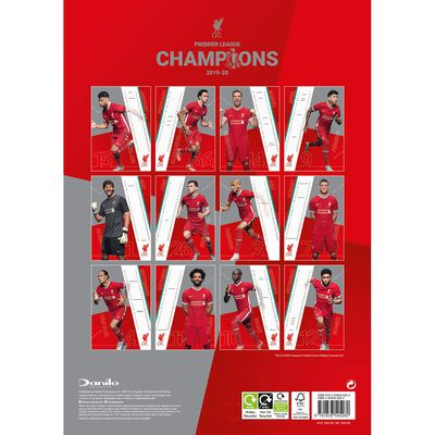 The Official Liverpool 2021 Calendar image number 3