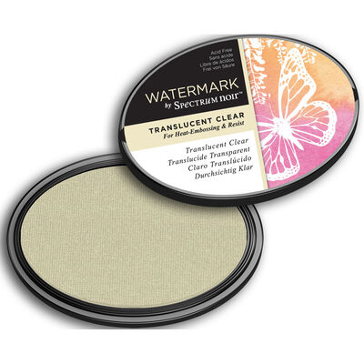Watermark by Spectrum Noir Inkpad - Translucent Clear image number 3