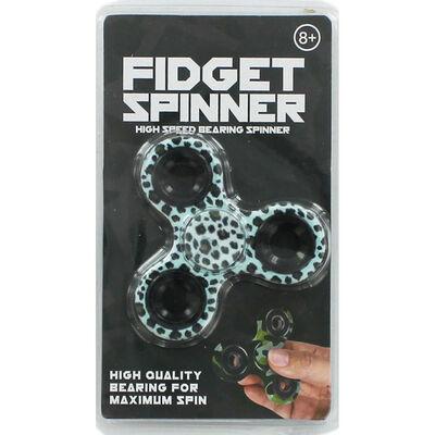 Patterned Fidget Spinner image number 1