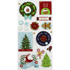 Christmas Icons Thick Christmas Stickers image number 2