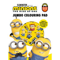 Minions Jumbo Colouring Pad