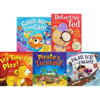 It's Time To Read: 10 Kids Picture Books Bundle