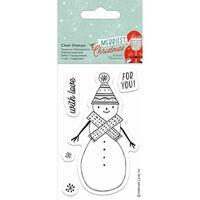 Snowman Clear Stamp