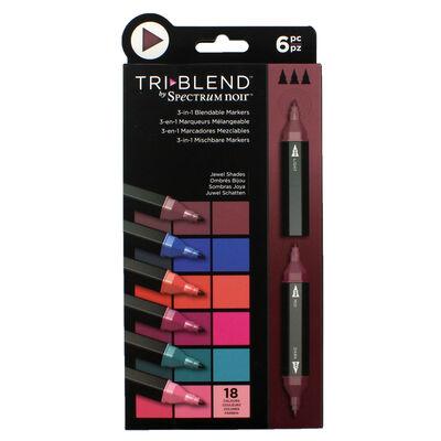 Spectrum Noir TriBlend - Jewel Shades - 6 Pack image number 1
