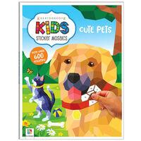 Kaleidoscope Kids Sticker Mosaics: Cute Pets