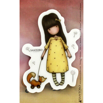 Santoro Rubber Stamp - Number 3 The Pretend Friend image number 2