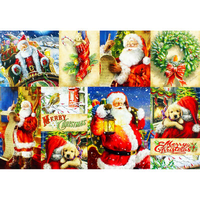 Postcards from Santa 500 Piece Jigsaw Puzzle image number 3