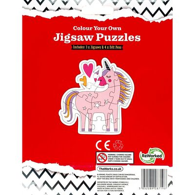 Colour Your Own Unicorn Puzzle image number 3