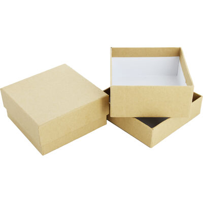 Square Craft Boxes - Set Of 2 image number 1