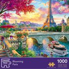 Blooming Paris 1000 Piece Jigsaw Puzzle image number 1