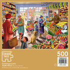 Greengrocers 500 Piece Jigsaw Puzzle image number 3