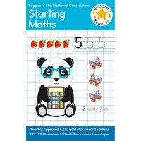 Gold Star Rewards Starting Maths: Ages 3-5