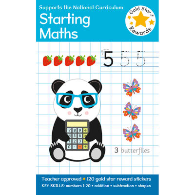 Gold Star Rewards Starting Maths: Ages 3-5 image number 1