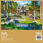 River Cottage Forest 1000 Piece Jigsaw Puzzle image number 3