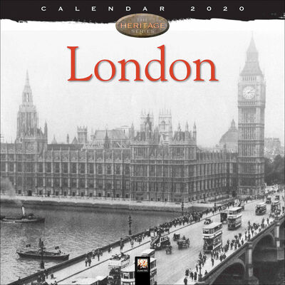 London Heritage 2020 Wall Calendar image number 1