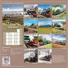 Steam Trains 2021 Calendar and Diary Set image number 2