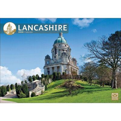 Lancashire 2020 A4 Wall Calendar image number 1