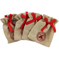 Hessian Pouches: Pack of 4
