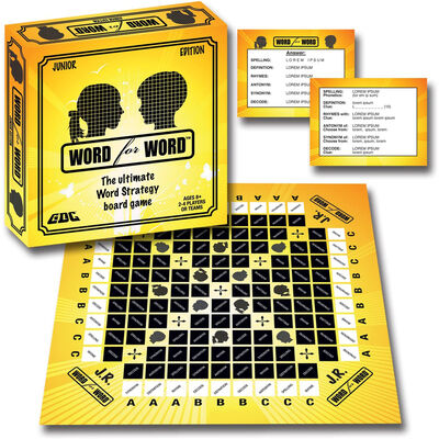 Word for Word Junior Board Game image number 2