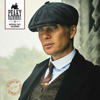 The Official Peaky Blinders 2021 Square Calendar