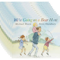 We're Going On A Bear Hunt: Pack of 10 Kids Picture Books Bundle
