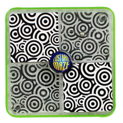 Green Lost Ball Maze image number 1