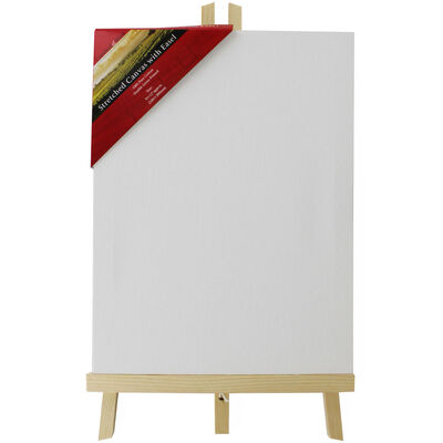 Stretched Canvas with Easel: 9 x 12 Inches image number 1