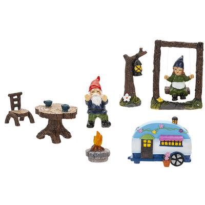 Secret Fairy Garden Gnome 8 Piece Set image number 2