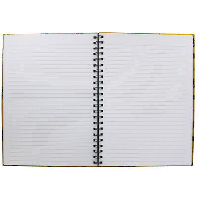 A4 Wiro Bee Lined Notebook image number 2