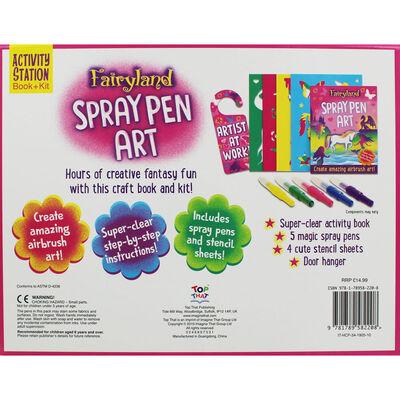 Fairyland Spray Pen Art image number 2