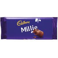Cadbury Dairy Milk Chocolate Bar 110g - Millie