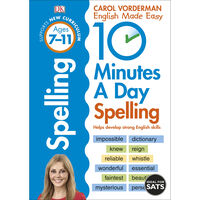 10 Minutes a Day Spelling: Ages 7-11