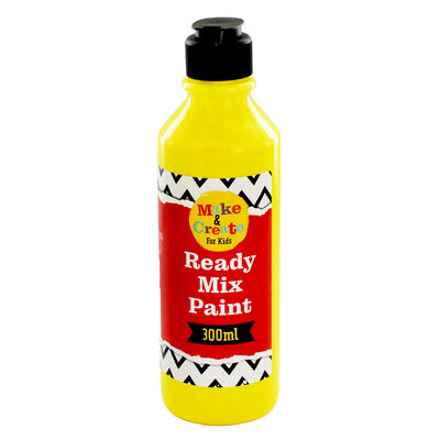 Yellow Readymix Paint - 300ml image number 1