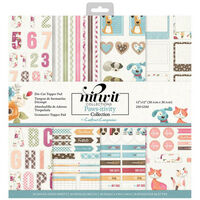 """Crafter's Companion Pawsitivity 12""""x12"""" Paper Pad"""