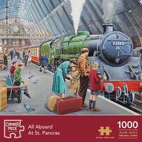 St Pancras & The Old Garage 1000 Piece Jigsaw Puzzle Bundle