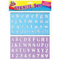 Alphabet Stencil Set