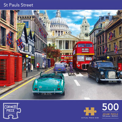 St Pauls Street 500 Piece Jigsaw Puzzle image number 1