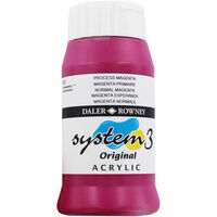 Daler Rowney System 3 Acrylic Paint - Process Magenta