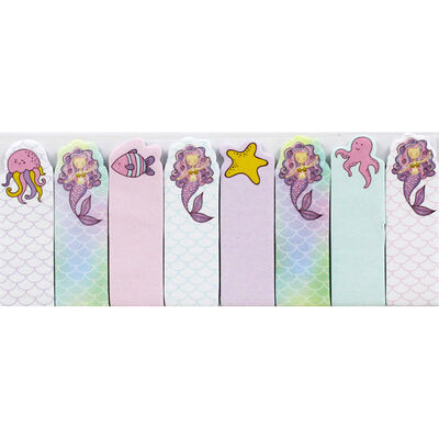 Mermaid Note Pals Sticky Tabs image number 2
