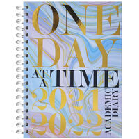A5 One Day 2021-2022 Day a Page Diary