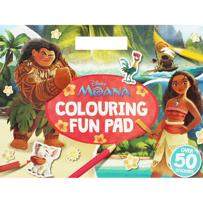 Disney Moana Colouring Fun Pad image number 1