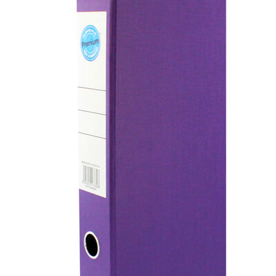 Purple Box File with Lid Clip image number 2