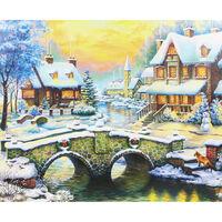 Stone Bridge To The Winter Estate 1000 Piece Jigsaw Puzzle
