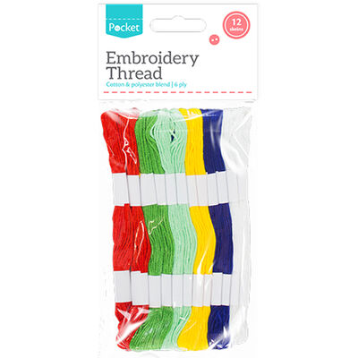 Embroidery Thread - Assorted image number 1