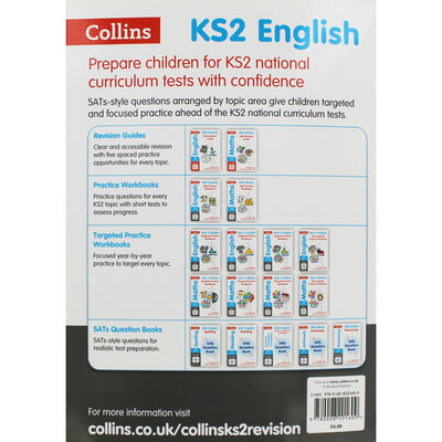 KS2 English Grammar Punctuation and Spelling SATs Question Book image number 3