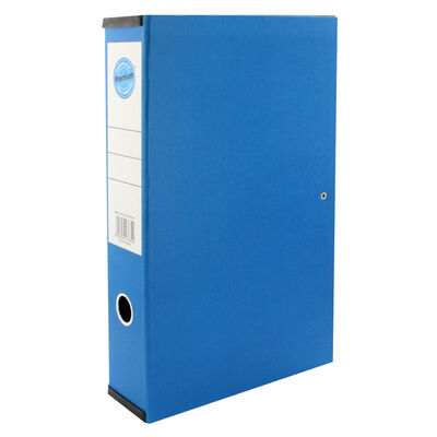 Blue Box File with Lid Clip image number 1